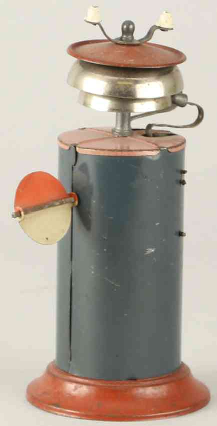 karl bub 177 railway toy warning bell ringing bell 2 bells