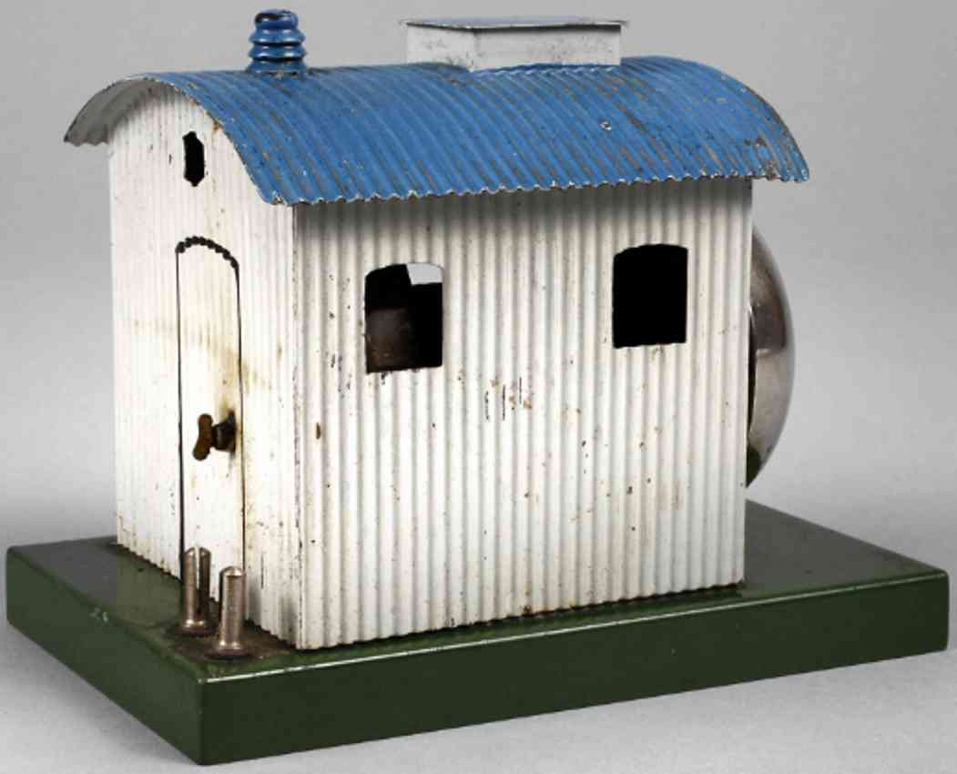 marklin maerklin 13996 toy warning bell double punching ring corrugated iron shack