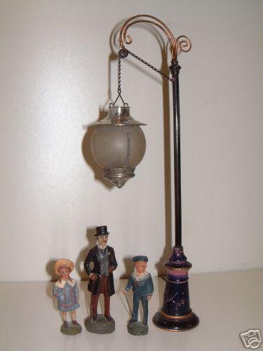 bing spielzeug eisenbahn lampe mit oelfeuerung