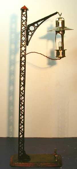 karl bub 2522 spielzeug eisenbahn einarmige bogenlampe
