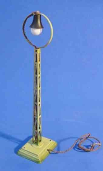 maerklin 13450 spielzeug eisenbahn ringkopf-bogenlampe gruen