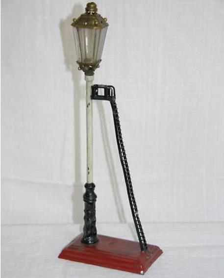maerklin 2838 spielzeug eisenbahn lampe auf podest mit leiter