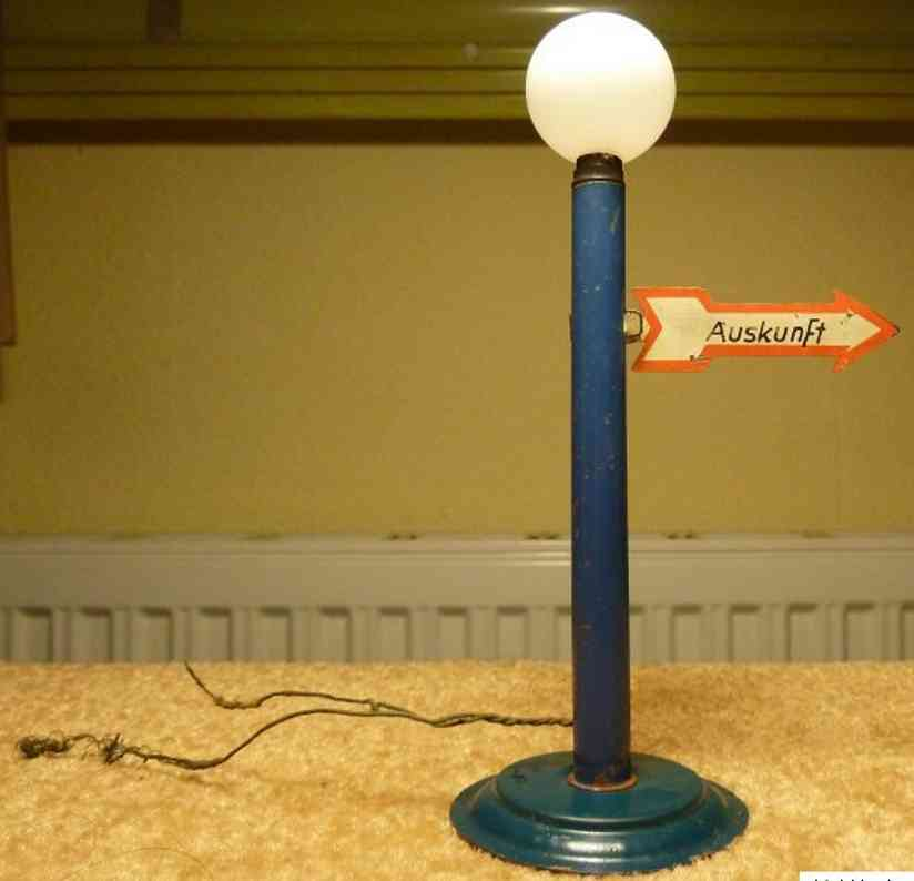 plank ernst railway toy lamp balloon lamp with information indicator