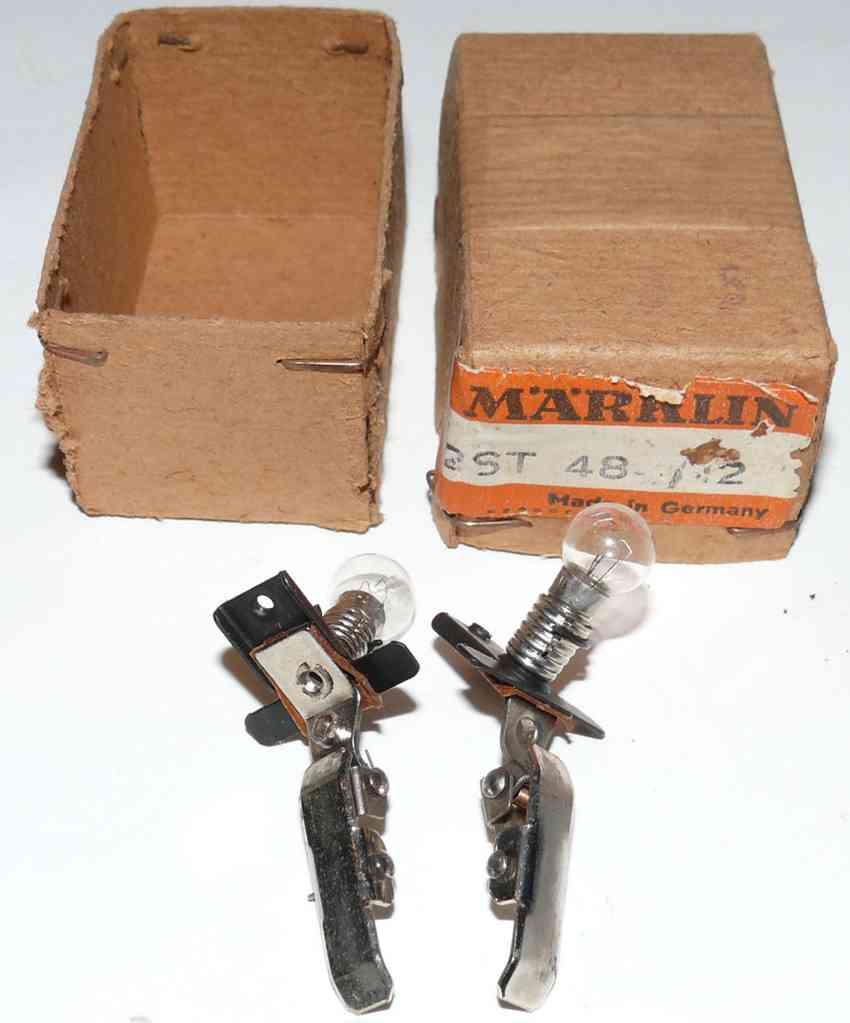 Maerklin 484/12 lamp holder
