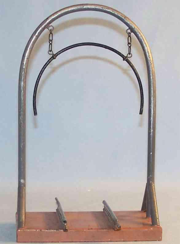 maerklin spielzeug eisenbahn zubehor höhenmesser in braun, grau und schwarz