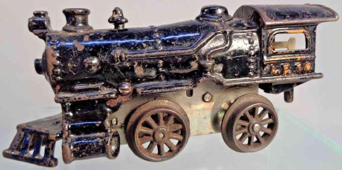 american flyer toy company 14 railway toy engine wind-up steam locomotive gauge 0