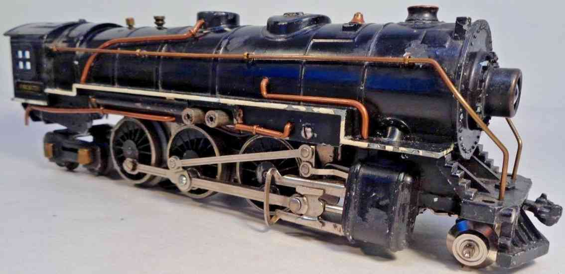 american flyer toy company 1680 railway toy engine hudson locomotive gauge 0