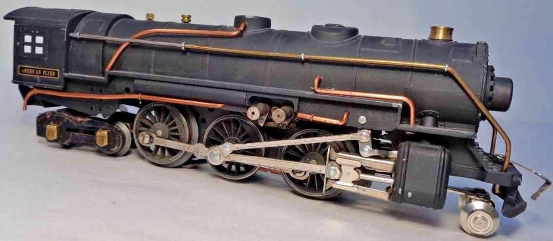 american flyer toy company 1681 engine steam locomotive hudson type black gauge 0