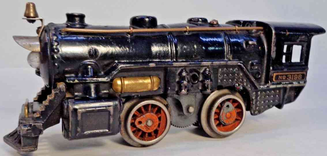 american flyer toy company 3198 railway toy engine electric powered steam locomotive gauge 0