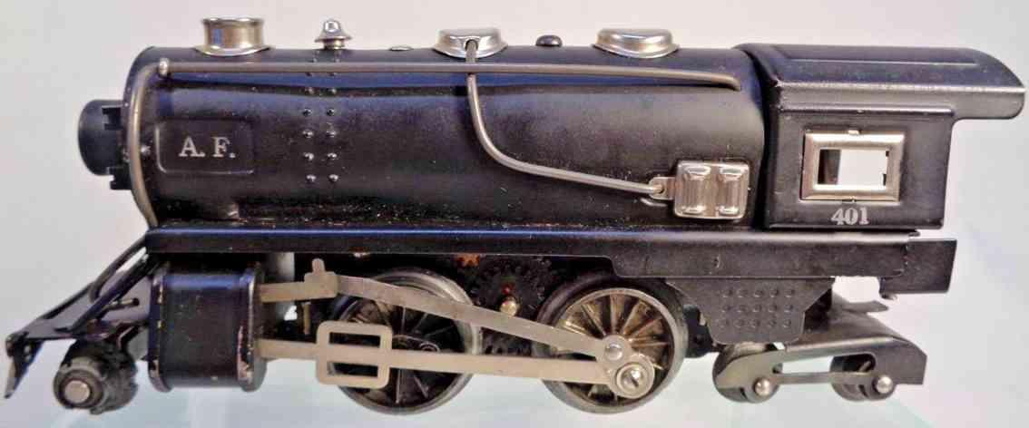american flyer toy company 401 spielzeug eisenbahn lokomotive nickel spur 0
