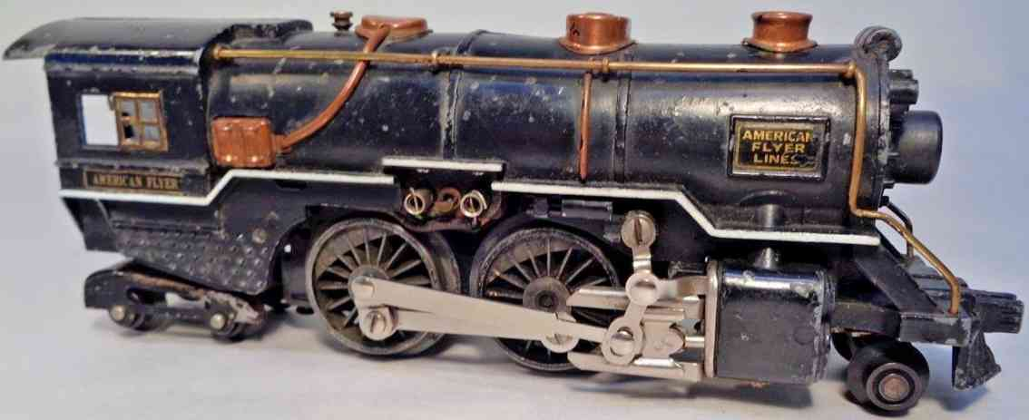 american flyer toy company 4315-4 toy engine pacific locomotive die-cast gauge 0