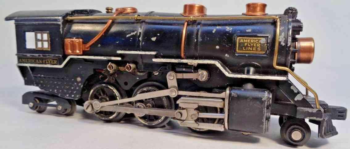 american flyer toy company 4315-6 eisenbahn pacific lokomotive druckguss spur 0
