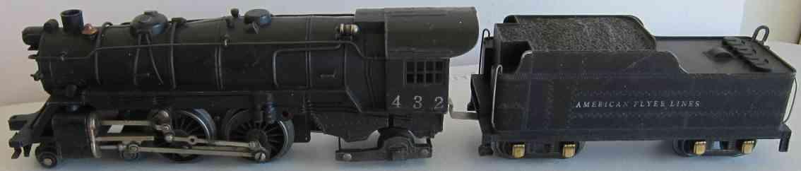 american flyer 432 spielzeug eisenbahn dampflokomotive atlantik mit tender aus gusseisen spur 0