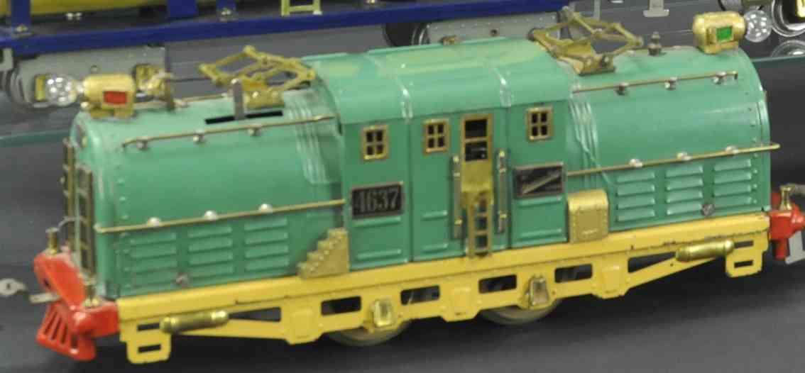 american flyer 4637 eisenbahn elektrolokomotive st. paul shasta stil gruen wide gauge