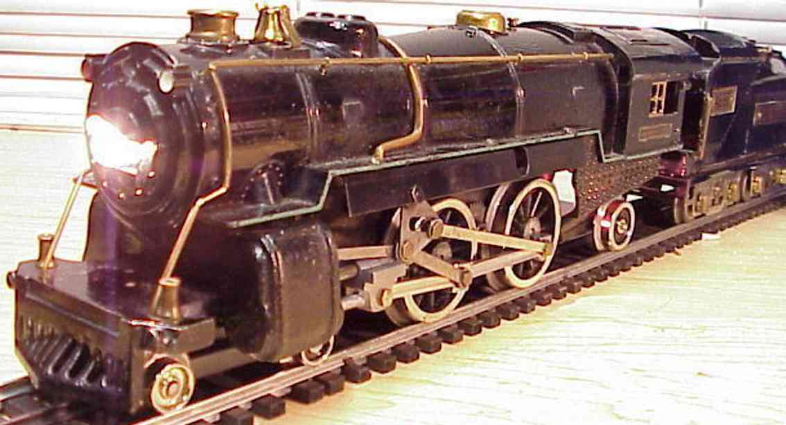 american flyer spielzeug eisenbahn dampflokomotive  4692 tender 4693 standard gauge