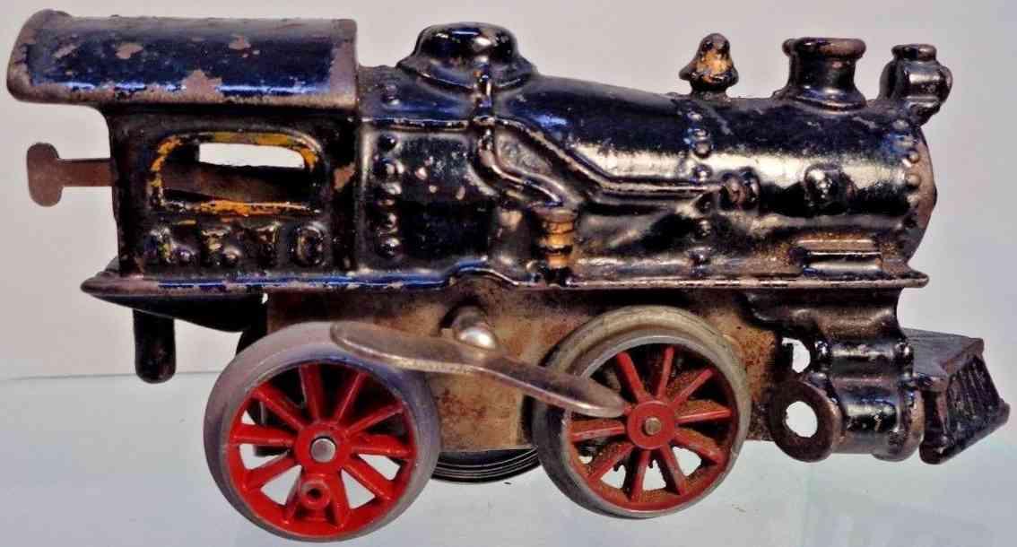 american flyer toy company af 10 railway toy engine clockwork steam locomotive gauge 0