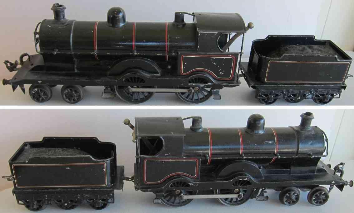 basset-lowke 1 spielzeug eisenbahn uhrwerk-dampflokomotive spur 1