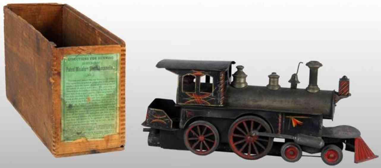 beggs eugene 3 spielzeug eisenbahn dampflokomotive tender