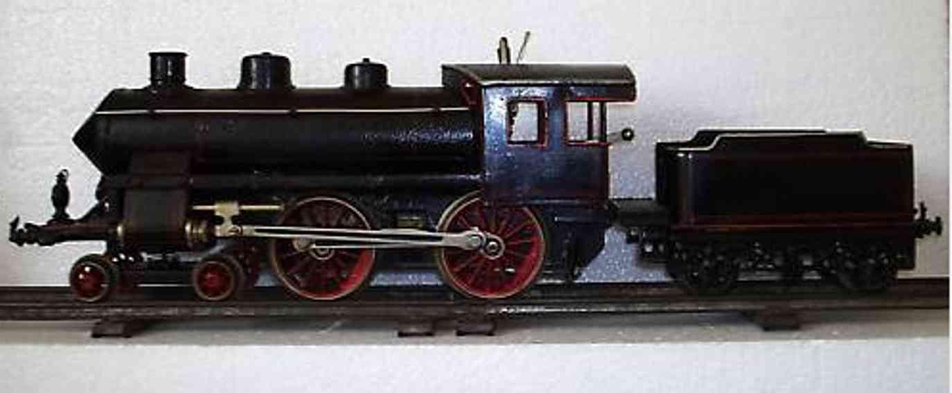 bing 11/213/1 spielzeug eisenbahn spiritusdampflokomotive schwarz spur 1