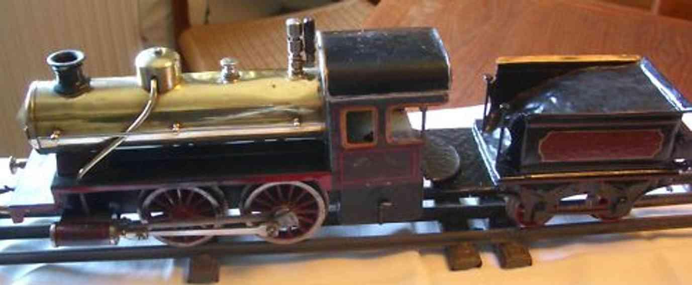 bing 11/24/1 spielzeug eisenbahn spiritus-dampflokomotive tender spur 1