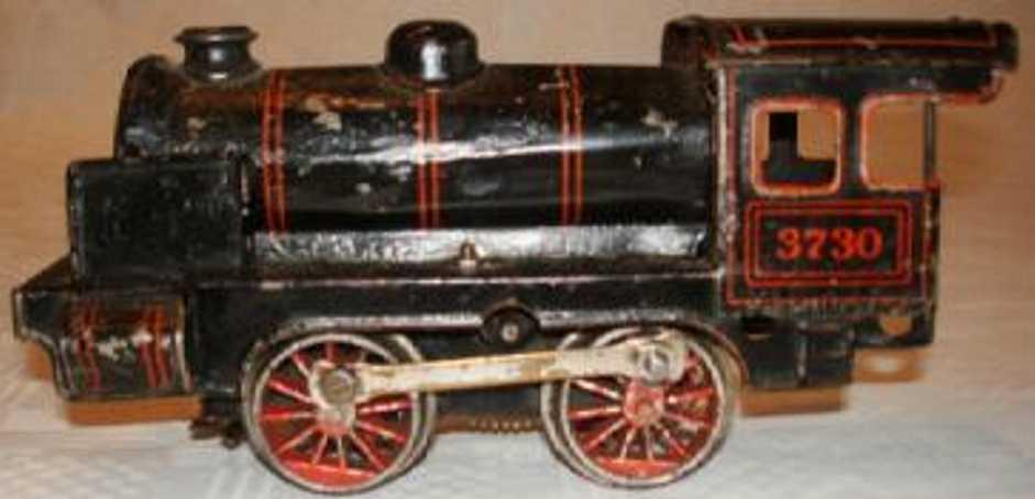 Bing 11/373 Uhrwerkdampflokomotive