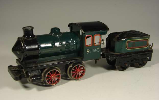 Bing 11/433 Uhrwerk-Dampflokomotive