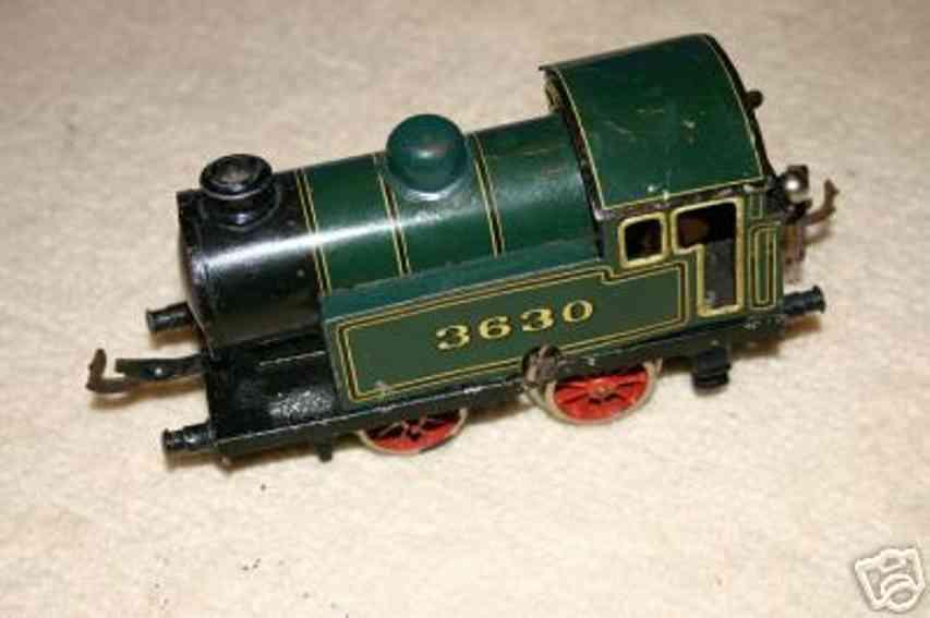 Bing 11/463 Uhrwerk-Dampflokomotive