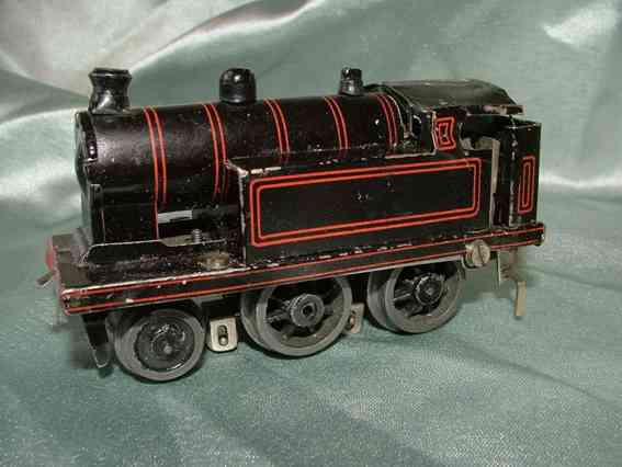 Bing 11/753/1 Tischbahn 6/8-Volt-Tenderlokomotive