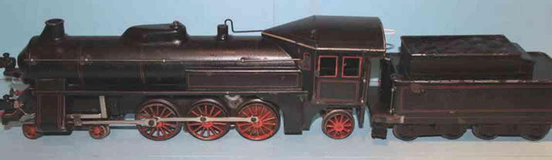 bing 11/827 spielzeug eisenbahn lokomotive schnellzug-dampflokomotive 2c1 für starkstrom mit 4-achsigem
