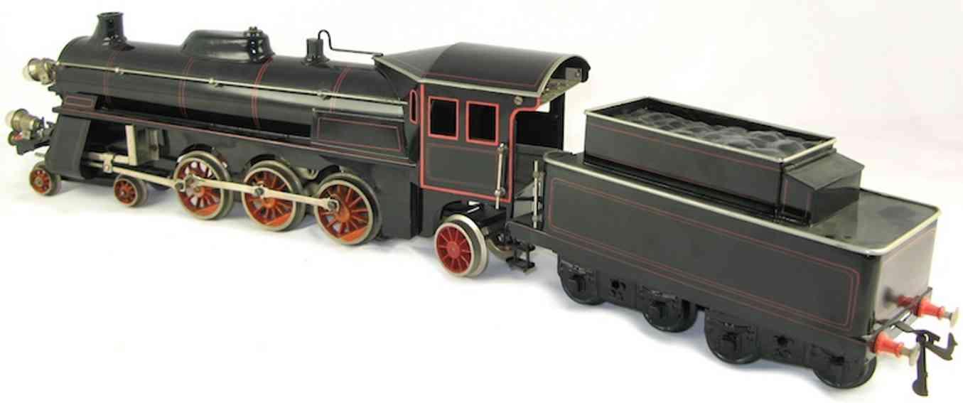 bing 11/874 spielzeug eisenbahn dampflokomotive 18 volt spur 1