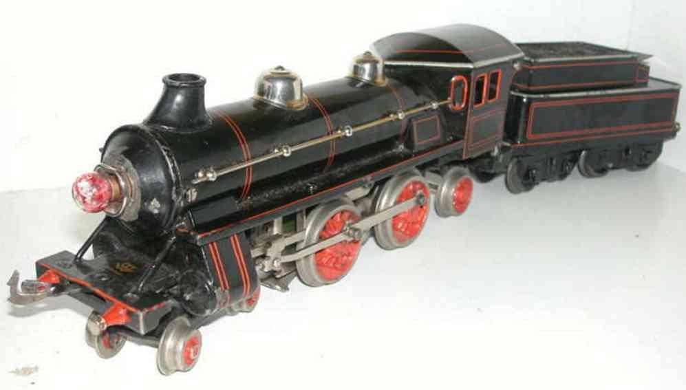 bing 11/877/0 spielzeug eisenbahn schlepptenderlokomotive 18 volt spur 0