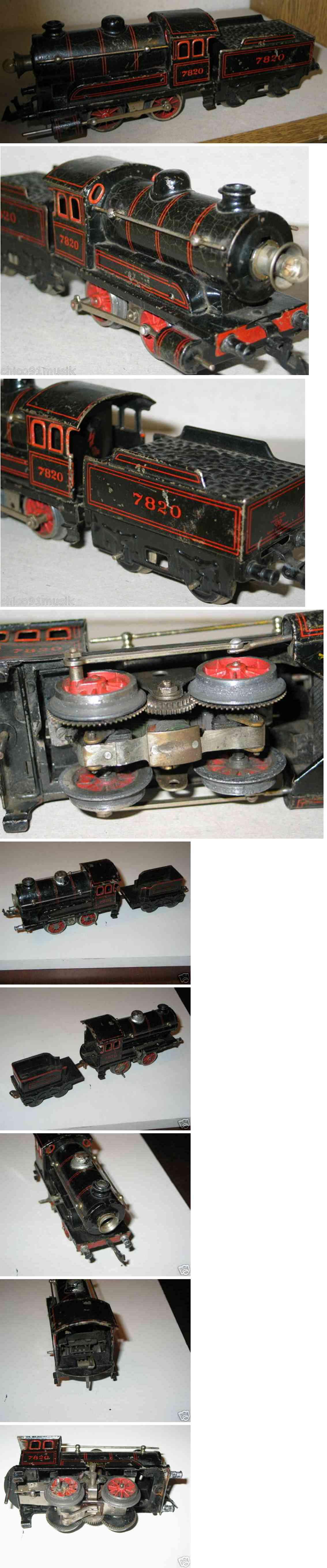 Bing 11/882 18-Volt Dampflokomotive