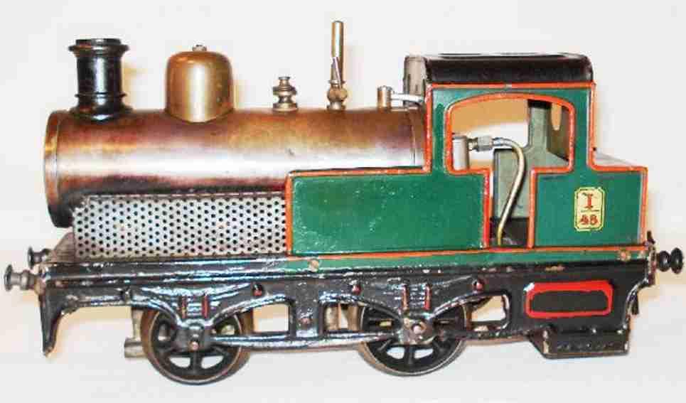 bing 161/550 spielzeug eisenbahn spiritus-dampflokomotive spur 1