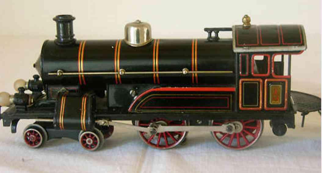 bing 201/2523 eisenbahn starkstromdampflokomotive schwarz spur 1