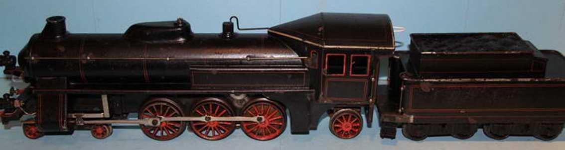 bing 211/3575 spielzeug eisenbahn starkstrom-dampflokomotive schwarz spur 1