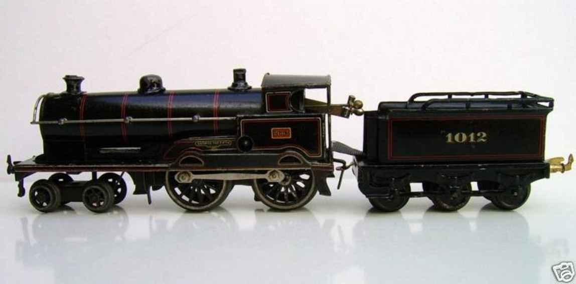 bing 4710 george the fifth eisenbahn englische uhrwerkdampflokomotive spur 0