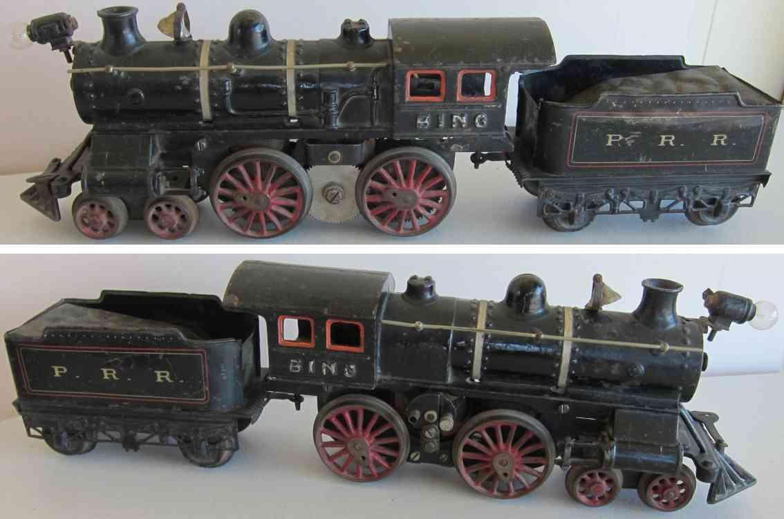 bing 524/510 prr spielzeug eisenbahn amerikanische dampflokomotive gusseisen spur 1