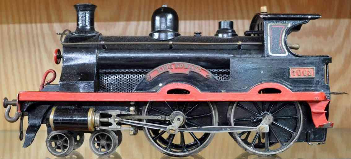 bing 33593 eisenbahn dampflokomotive king edward 7093 lnwr schwarz spur 3