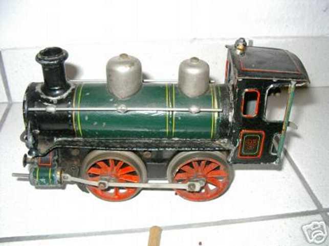 bing spielzeug eisenbahn dampflokomotive mit uhrwerk spur 1