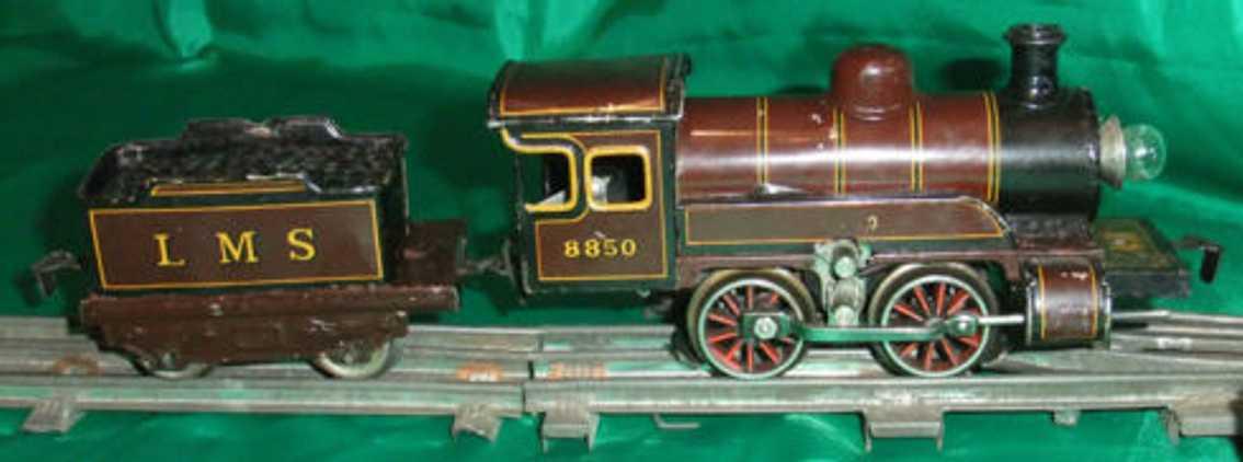 Bing Uhrwerkdampflokomotive