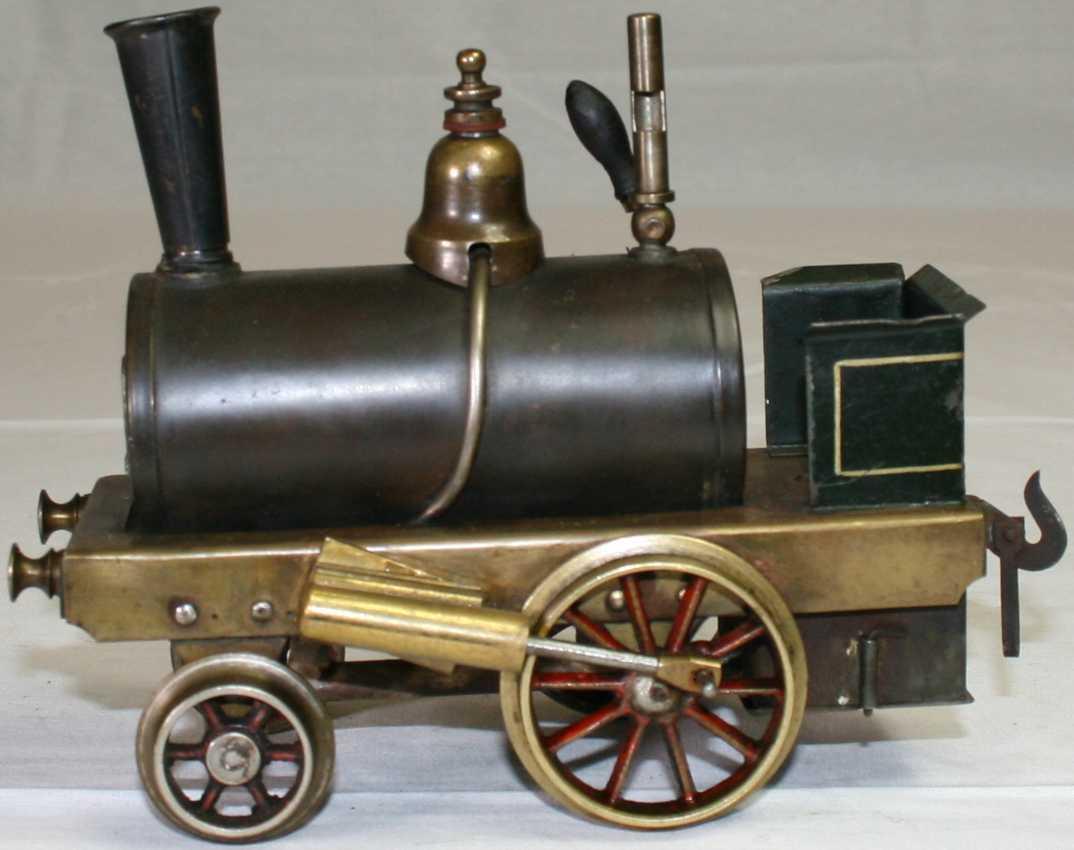 bing 8972/2 railway toy engine spirit steam locomotive green black gauge 2