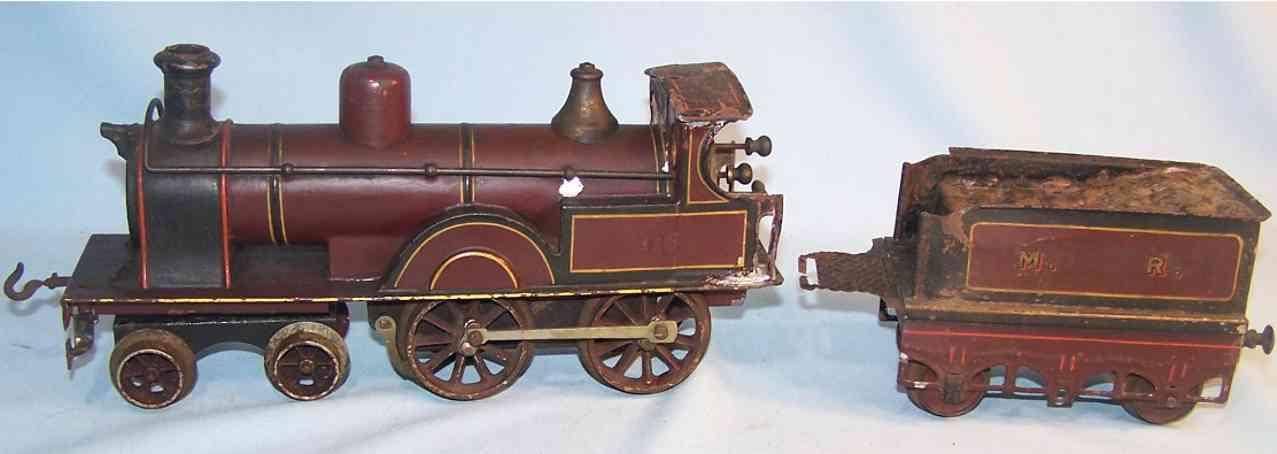 Bing 116 Englische Uhrwerklokomotive
