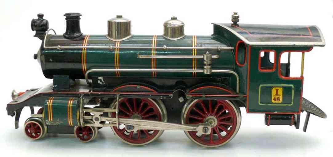 Bing Clockwork steam locomotive I 48