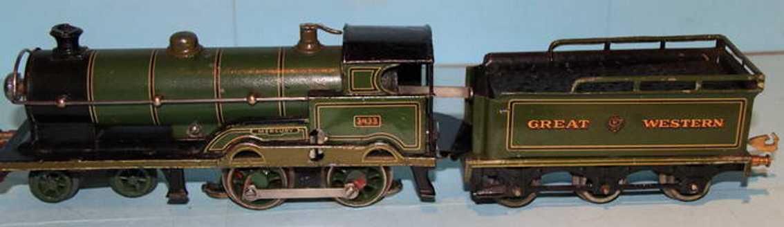 bing  spielzeug eisenbahn 18-volt dampflokomotive spur 1