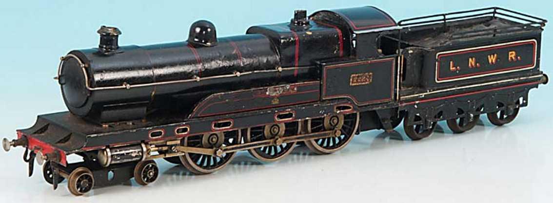 bing bl 5900 railway toy engine english spirit steam locomotive sir gilbert claughton gauge 1
