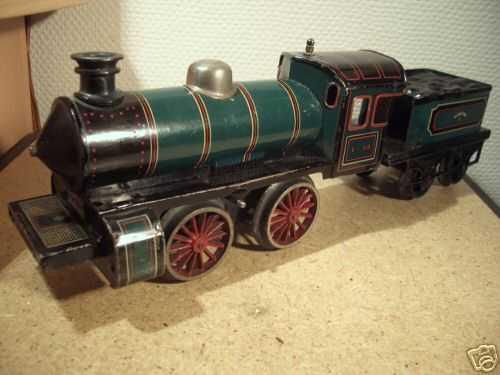 bing 1= 48 spielzeug eisenbahn uhrwerk-dampflokomotive spur 0