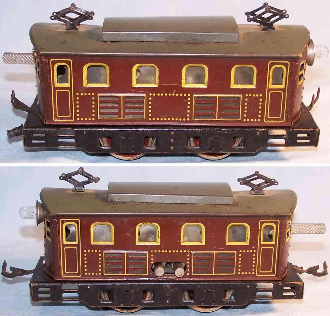 bing railway toy engine electric locomotive gauge 0