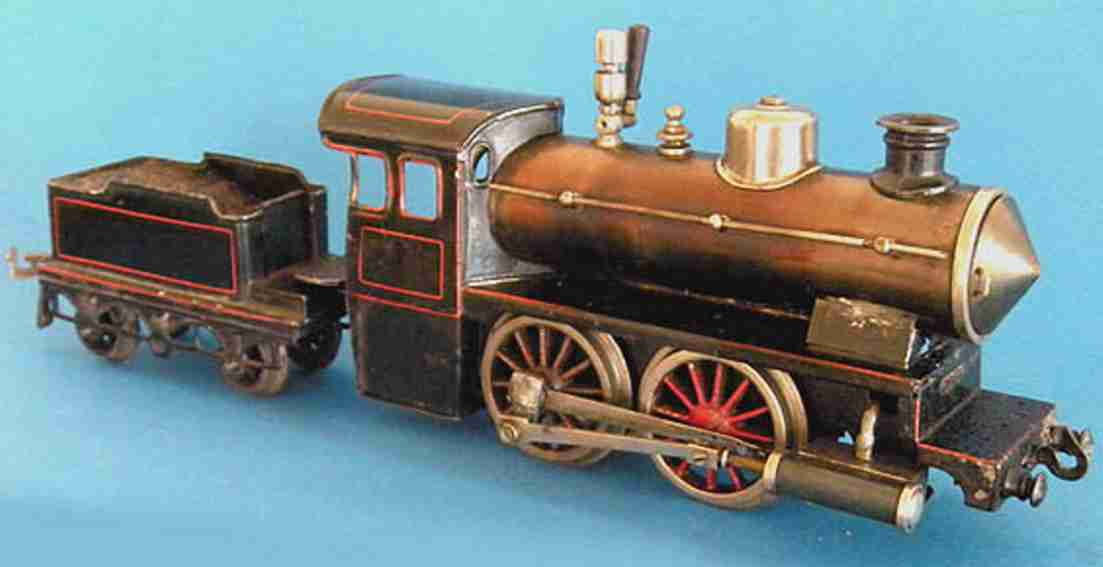 Bing Spiritus-Dampflokomotive