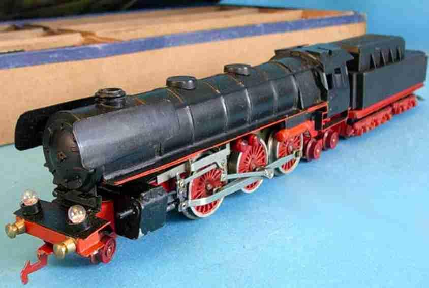 bub 2185/12 spielzeug eisenbahn elektrische lokomotive tebder schwarz rot spur s