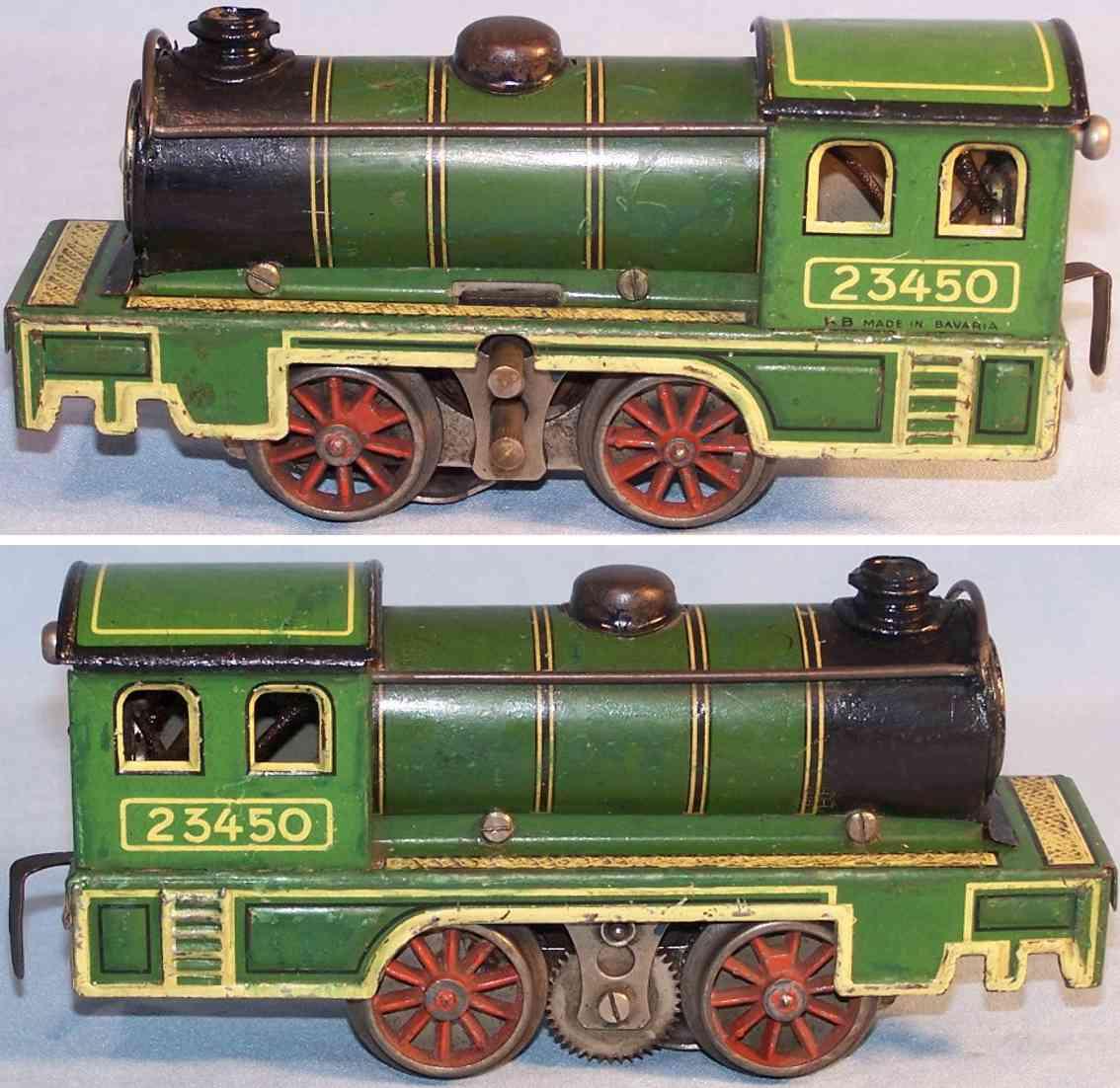 bub 23450 spielzeug eisenbahn tenderdampflokomotive spur 0